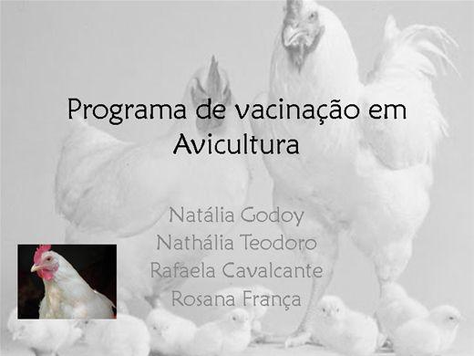Curso Online de Programa de vacinação em avicultura