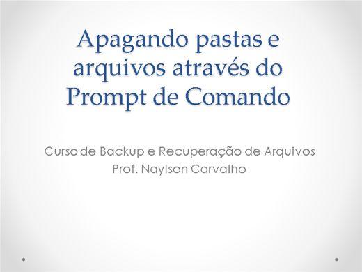 Curso Online de Backup e Recuperação de Arquivos