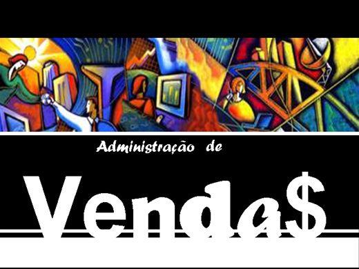 Curso Online de Administração de Vendas