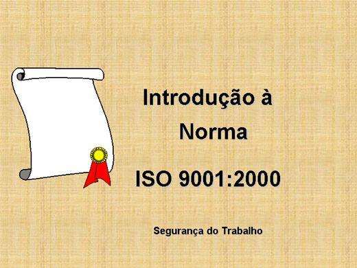 Curso Online de Gestão de Qualidade (ISO 9001)