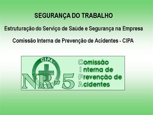 Curso Online de NR-5 (CIPA)