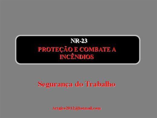Curso Online de NR 23 - Proteção contra Incêndios