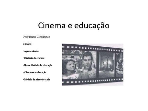 Curso Online de Cinema e educação: para uma pedagogia da imagem