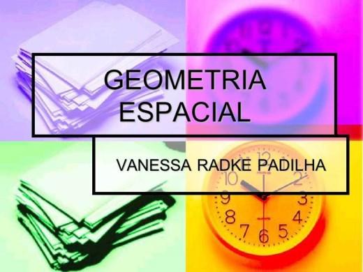 Curso Online de GEOMETRIA ESPACIAL