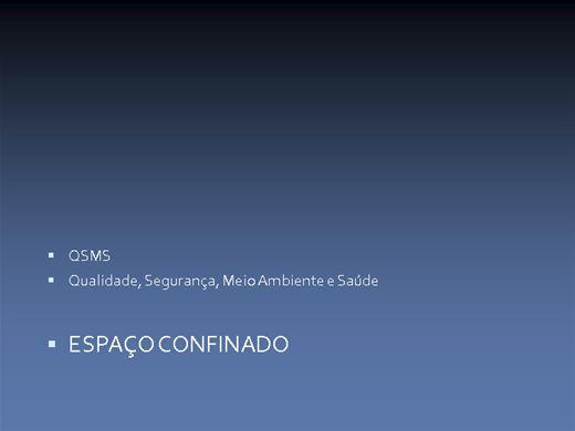 Curso Online de QUALIDADE SEGURANÇA E MEIO AMBIENTE E SAÚDE NO TRABALHO