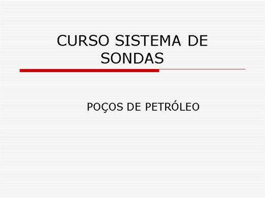 Curso Online de CURSO SISTEMAS DE SONDA