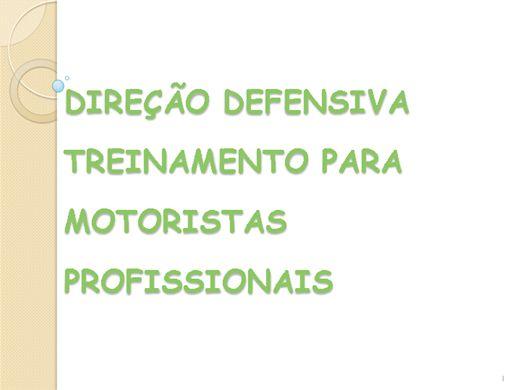 Curso Online de Direção Defensiva para Motoristas Profissionais