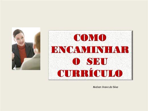 Curso Online de COMO ENCAMINHAR UM CURRÍCULO