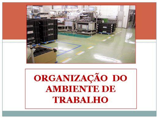 Curso Online de ORGANIZAÇÃO DO AMBIENTE DE TRABALHO