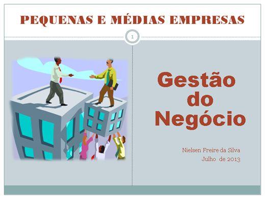 Curso Online de GESTÃO DE NEGÓCIOS DA PEQUENA E MÉDIA EMPRESA