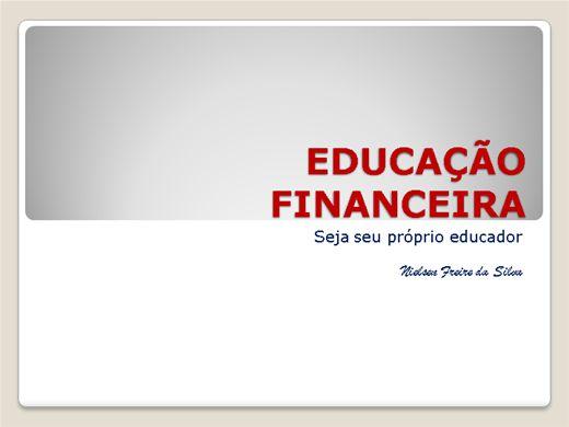 Curso Online de EDUCADOR FINANCEIRO