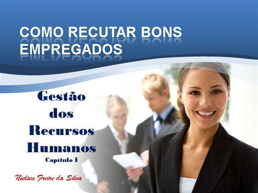Curso Online de COMO RECRUTAR BONS EMPREGADOS