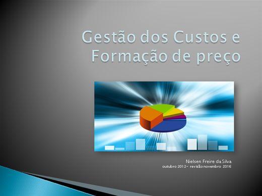 Curso Online de CUSTO DA PRODUÇÃO E FORMAÇÃO DE PREÇO