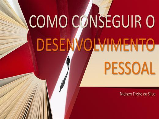 Curso Online de COMO CONSEGUIR O DESENVOLVIMENTO PESSOAL