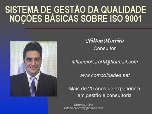 Curso Online de Gestão da Qualidade-ISO 9001-Seções e Procedimentos