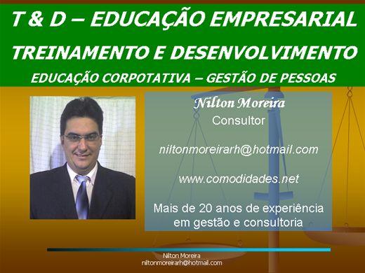 Curso Online de T&D - Treinamento e Desenvolvimento de Pessoal - Educação Empresarial