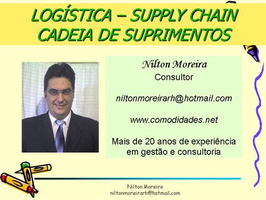 Curso Online de Logística-Supply Chain-Cadeia de Suprimentos