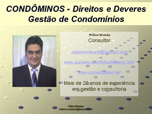 Curso Online de Condôminos-Direitos e Deveres-Gestão de Condomínios
