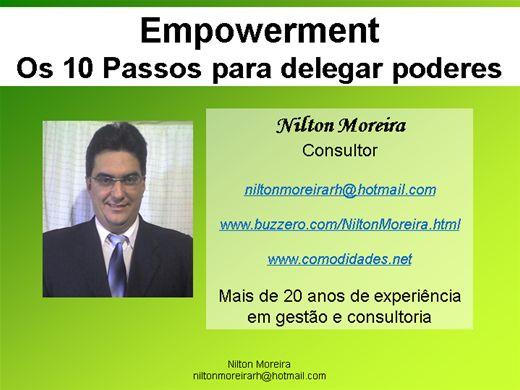 Curso Online de Empowerment - Os 10 Passos para delegar poderes