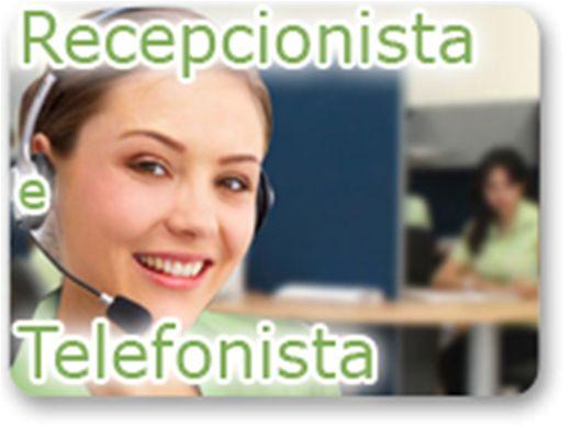 Curso Online de RECEPCIONISTA E TELEFONISTA - 2 EM 1