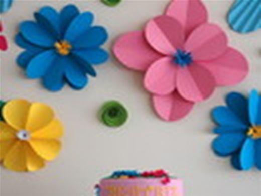 Curso Online de Flores Artesanais de Papel