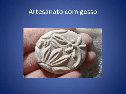 Curso Online de Artesanato com gesso