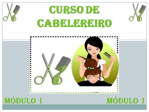 Curso Online de CURSO DE CABELEREIRO - MÓDULO 1