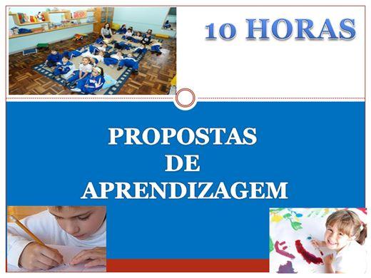 Curso Online de Propostas de Aprendizagem na Educação Infantil (10 horas)
