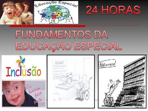 Curso Online de Fundamentos da Educação Especial - 24 horas