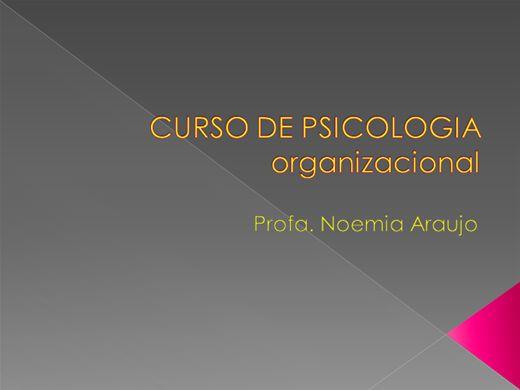 Curso Online de Psicologia Organizacional Para Gestores de Sucesso