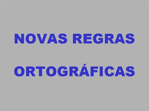 Curso Online de NOVAS REGRAS ORTOGRÁFICAS