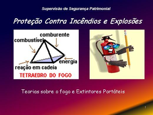 Curso Online de PREVENÇÃO E COMBATE A INCÊNDIOS