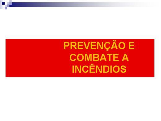 Curso Online de NR 10 - Prevenção e Combate a Incêndios