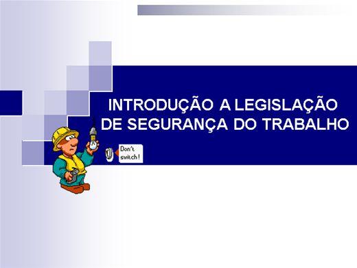 Curso Online de Organização do Trabalho e Segurança Elétrica