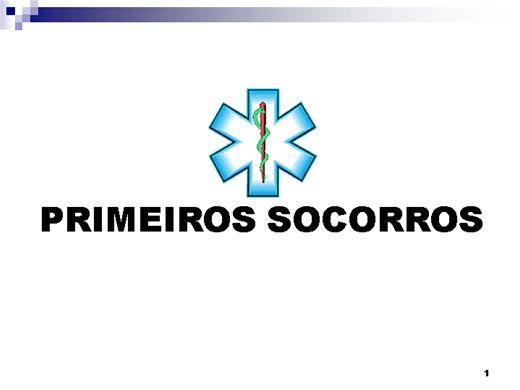 Curso Online de NR.10 - PRIMEIROS SOCORROS