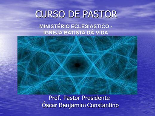 Curso Online de CURSO DE PASTOR