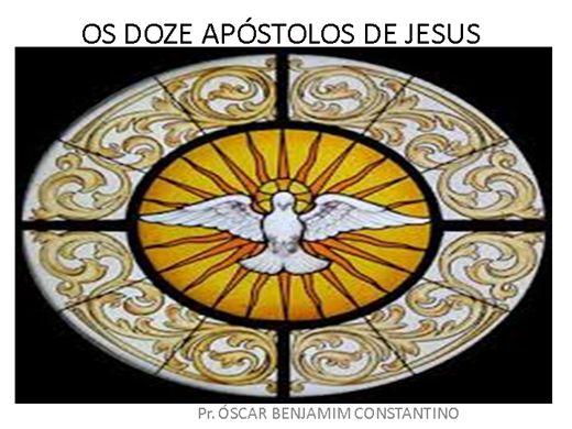 Curso Online de DOZE APÓSTOLOS DE JESUS