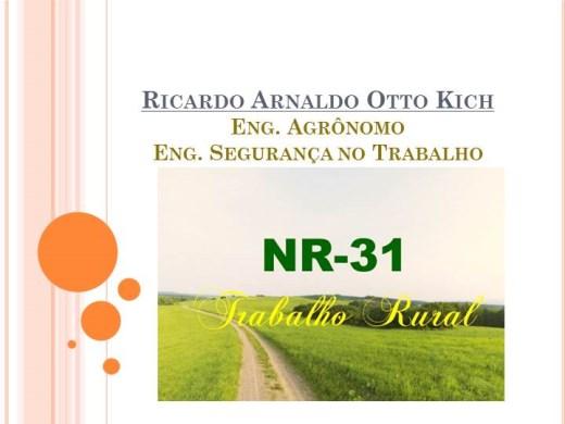 Curso Online de Segurança no trabalho rural - NR 31.