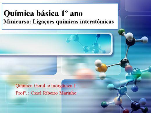 Curso Online de Ligações químicas interatômicas