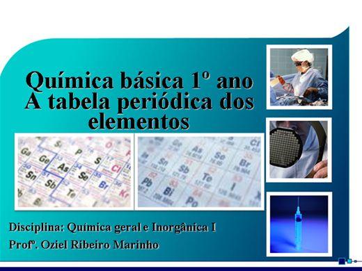 Curso Online de A tabela periódica dos elementos