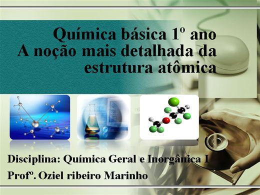 Curso Online de A noção mais detalhada da estrutura atômica