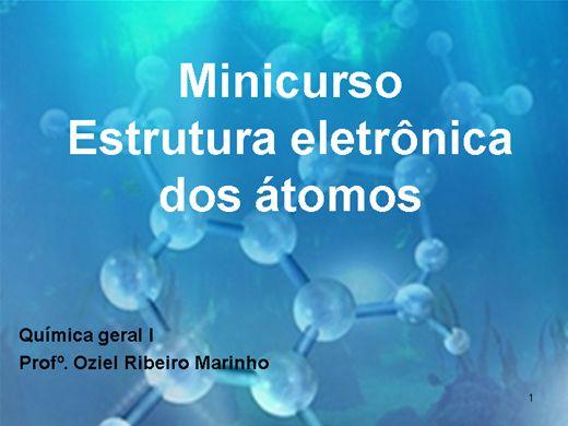 Curso Online de Minicurso_estrutura_eletrônicas _dos_átomos
