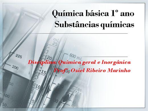 Curso Online de Minicurso_Substâncias químicas
