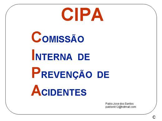 Curso Online de APOSTILA CIPA - PARA INSTRUTORES