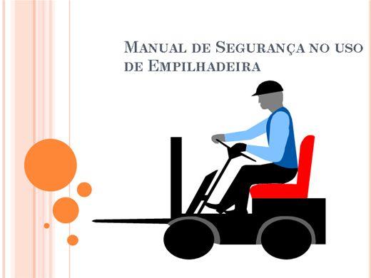 Curso Online de NR-11 - MANUAL DE SEGURANÇA ( USO DE EMPILHADEIRA)