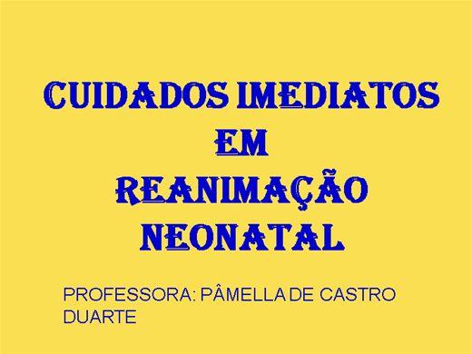 Curso Online de CUIDADOS IMEDIATOS EM REANIMAÇÃO NEONATAL