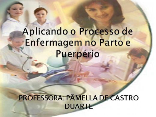 Curso Online de Aplicando o Processo de Enfermagem no Parto e Puerpério