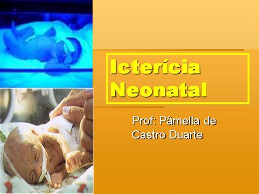 Curso Online de ICTERÍCIA NEONATAL
