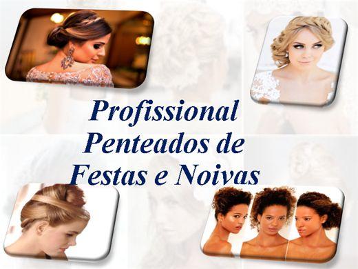Curso Online de Profissional  Penteados de  Festas e Noivas