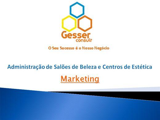 Curso Online de Marketing para Salões de Beleza e Centros de Estética - Gesser Consult